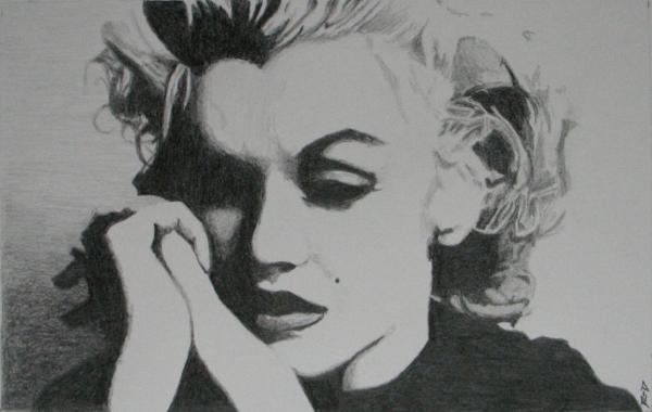 Marilyn Monroe by Rdavis63